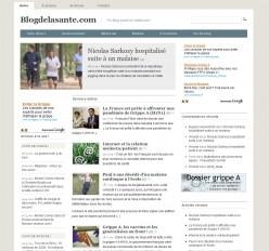 blogdelasante.com -- v2 -- juillet 09
