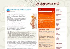 blogdelasante.com -- v1 -- janvier 09