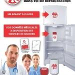 Point Vie – le dossier médical collé au frigo !