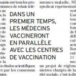 Grippe A H1N1 : vaccination théorique chez les généralistes