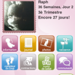 Baby Bump : application iphone de suivi de grossesse