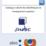 Le Sudoc est accessible en version mobile