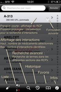 médicaments 2012 pour iPhone et iPad