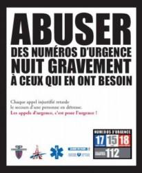 numéros d'urgence-15-17-18-112