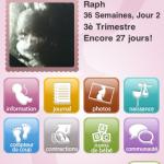 Baby Bump : application iphone de suivi de grossesse
