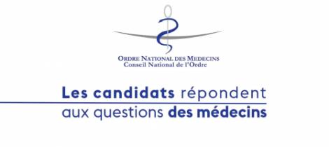 Presidentielle 2017 - les candidats répondent aux CNOM
